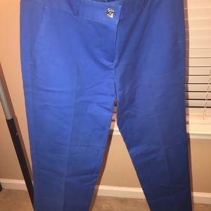 Michael Kors Blue Pants Size 4